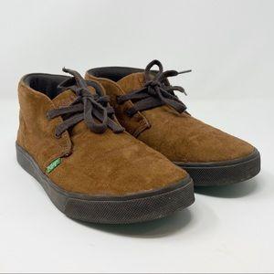 Keep // Faux Suede High Top Sneakers